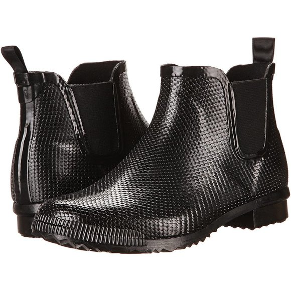 Cougar Regent Chelsea Black Rainboots (Snake)